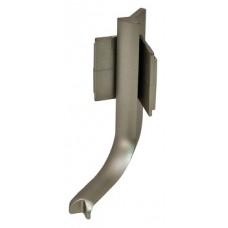 Внутренний уголок для L-образной профильной ручки, цвета нержавеющей стали