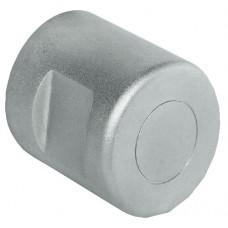 Адаптерная ручка-кнопка, неподвижная, 30 мм, без колец, никель мат