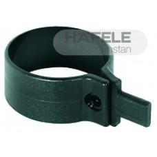 Кольцо для крепления царги к ножке, D 60 мм, пластик, черное