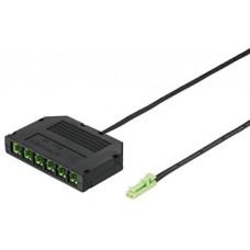 6-канальный распределитель, без функции переключения, 24V длина кабеля: 2 м