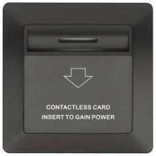Крышка-накладка для энергосберегающего терминала Dialock от HAFELE (без электроники), черного цвета