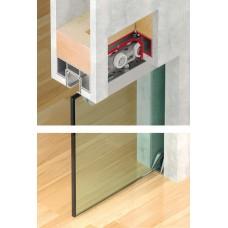 Комплект шин для монтажа для полотна 40-120 кг. сост.  ходов. креп. шин. ниж. направ.       2,0m