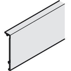 Комплект зажимов-бленд, высота 52мм, к зажимному башаку для стекла (2шт) алюминий 1000мм
