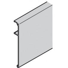 Зажимная облицовка для шины для раздвижных дверей высота 115 мм, длина 3 м, алюминий