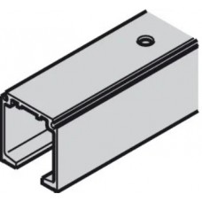 Верхняя направляющая для раздвижных дверей, алюминий, 3 м