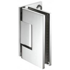 Дверная петля для душа, для подключения настенного стекла полированный хромированный