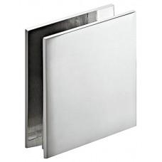 Держатель стекла 8-10 мм, прямой, латунь, хром, полированный