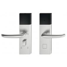 Дверной терминал DT700 offline нержавеющая сталь матовая дверная ручка J-образной формы