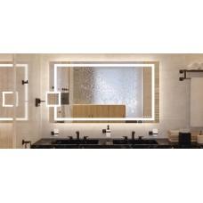 Зеркало для ванной, Häfele Aquasys, многофункциональное  Свет, звук и демистер