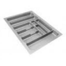 Вставка для столовых приборов (пластмасса, серый, MIN 400 - MAX 440 мм, глубина 440-480 мм