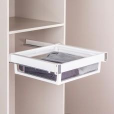 Выдвижная корзина  для шкафа цвет белый , 60 см