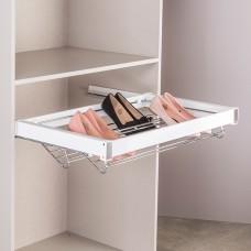 Выдвижная корзина для обуви, цвет  белый 90 см