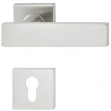Комплект ручек для  межкомнатных дверей PC LDH 2187,нерж. сталь мат.