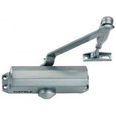 Доводчик DCL,  для двери, 60 кг, серебристый