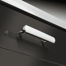 Мебельная ручка, цвет никель мат . 379x32mm