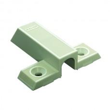 Адаптер для мебельной защелки, пластик бежевый
